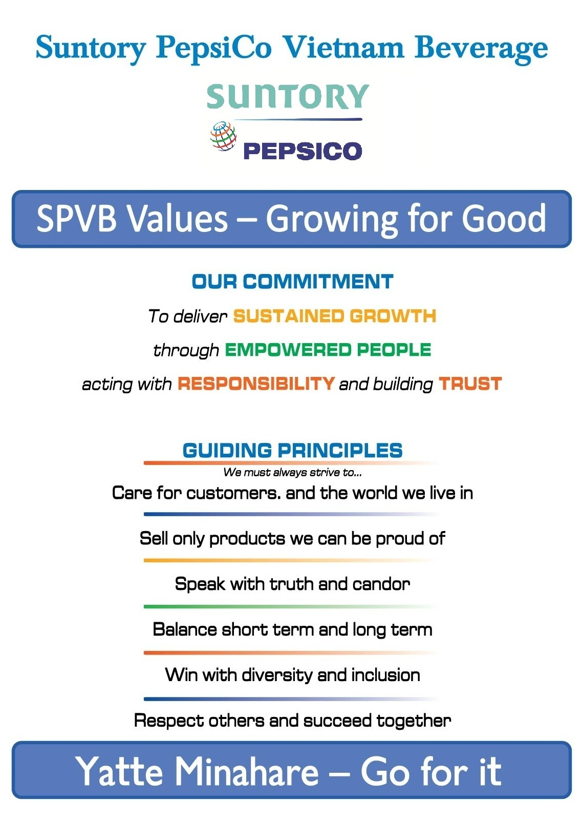 Pepsico Mission and Vision Statement Analysis
