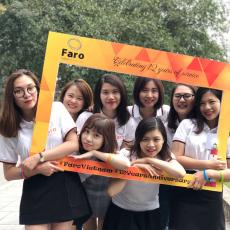 Faro Vietnam 12 year anniversary