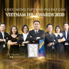 PNJ Vinh Danh giải thưởng VNHR AWARDS 2020 - Talentnet tổ chức