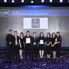 PNJ Vinh Danh giải thưởng Top 100 NLVTN VN 2020 - Anphabe tổ chức.