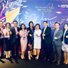 PNJ Vinh Danh giải thưởng VNHR AWARDS 2020 - Talentnet tổ chức.