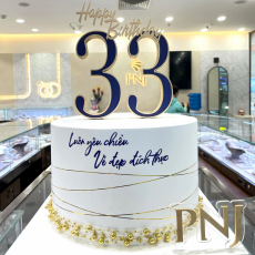 PNJ sinh nhật 33 tuổi 2021
