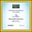 Certificate of Vietnam Best Place to Work