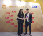 Amway Vietnam certified as one of the Top Employers Asia Pacific 2017