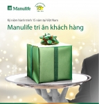 "Customer Promotion Program ""Celebrating Manulife Vietnam's 15th Anniversary"""