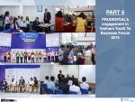 Prudential's engagement in Vietnam Youth to Business Forum 2015