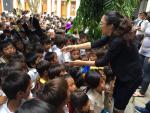 Chương trinh Tết thiếu nhi 1/6 cho 3.500 trẻ em nghèo tại Buôn Hằng _ Krong Pak _ Daklak.