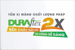 TẤM XI MĂNG SỢI DURAflex 2X CHÍNH THỨC RA MẮT THỊ TRƯỜNG
