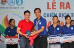 TECHCOMBANK trao tặng 17 suất học bổng cho các bạn sinh viên Đại Học Kinh Tế - Luật TP. Hồ Chí Minh