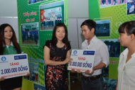 SABMiller Viet Nam gave scholarship to 20 students in Binh Duong