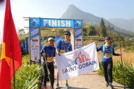 SAINT-GOBAIN VIETNAM CHINH PHỤC GIẢI VIETNAM MOUNTAIN MARATHON 2020