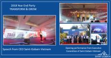 Saint-Gobain Vietnam - Year End Party