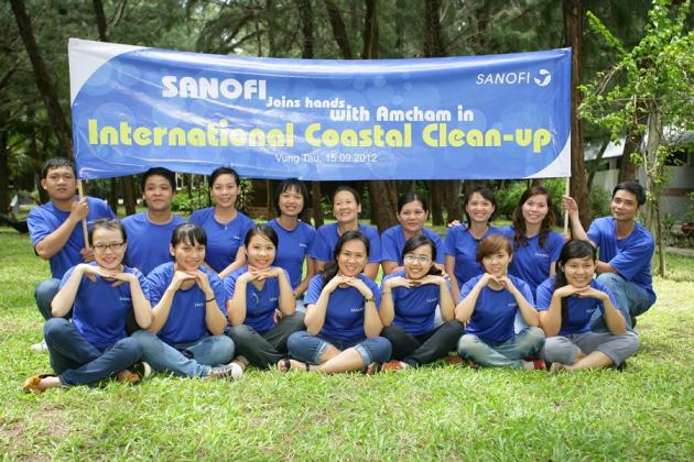 International Coastal Clean-up, Vung Tau, 15.09.2012