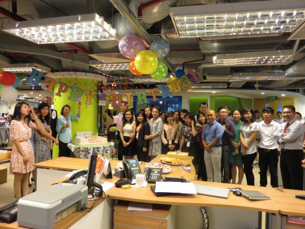 Employee Birthday Party