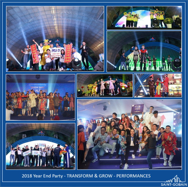 Saint-Gobain Vietnam - Year End Party
