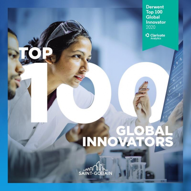Saint-Gobain in Top 100 Global Innovators