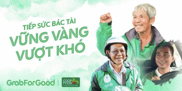 Trao tặng gần 80 tấn gạo và 8.000 thùng mì gói, hỗ trợ đối tác tài xế vượt qua khó khăn trong dịch COVID-19
