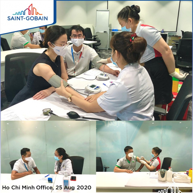 VACCINATION CAMPAIGN FOR SAINT-GOBAIN APAC EMPLOYEES