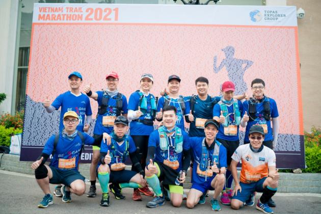 SAINT-GOBAIN VIETNAM CHINH PHỤC GIẢI VIETNAM MOUNTAIN MARATHON - MOC CHAU 2021