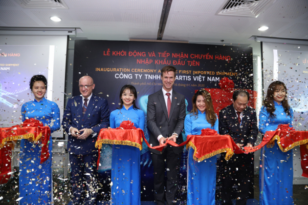 Legal Trade Entiy - First shipment to VN Celebration 2020