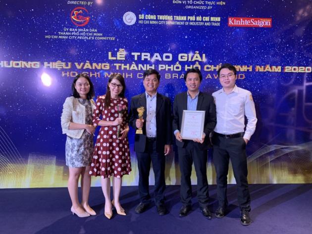 One of our precious awards